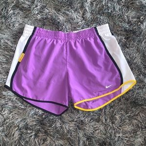 Nike Dri FIT Shorts Size Small Purple